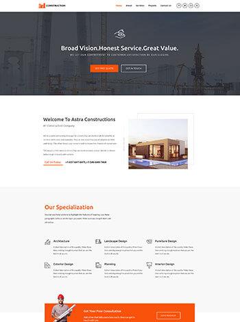 construction img - وب سایت ها