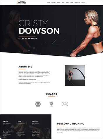 fitness trainer free img - وب سایت ها