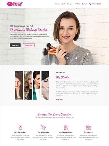 make up artist free img - وب سایت ها